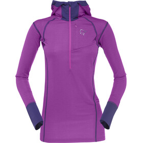 Norrøna Super Hoodie Women Royal Lush